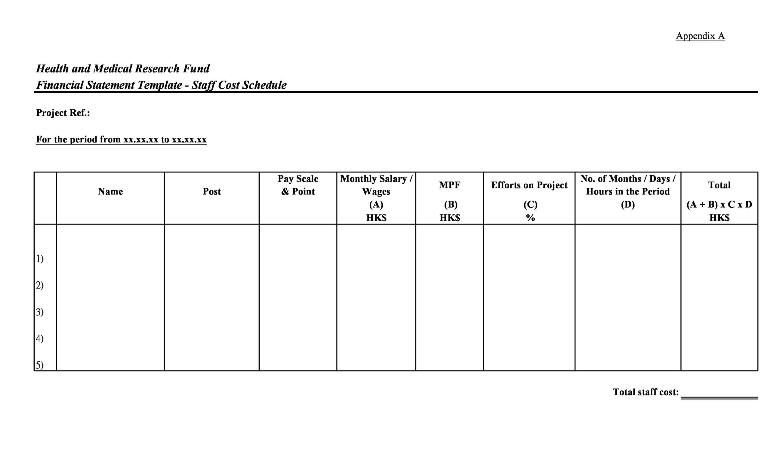 financial statement template 03