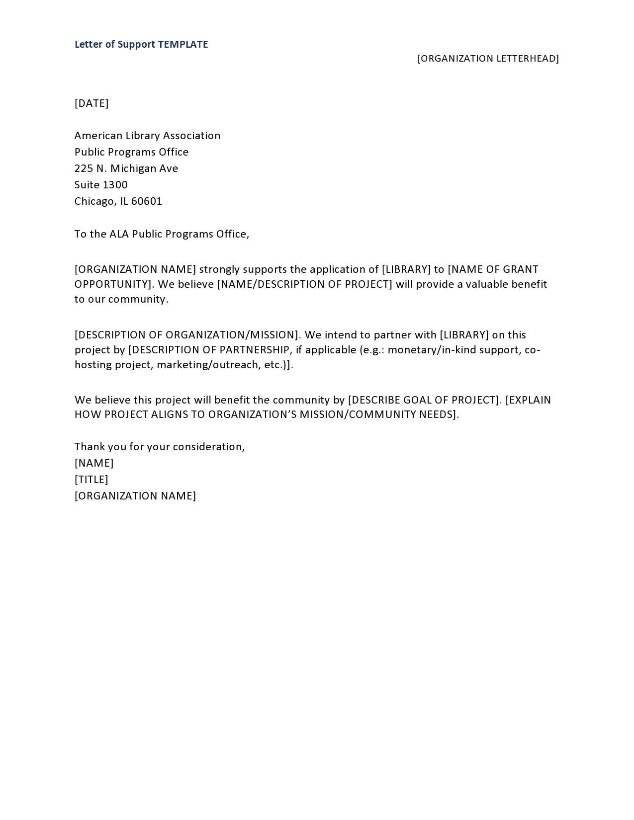 letter of support template 08