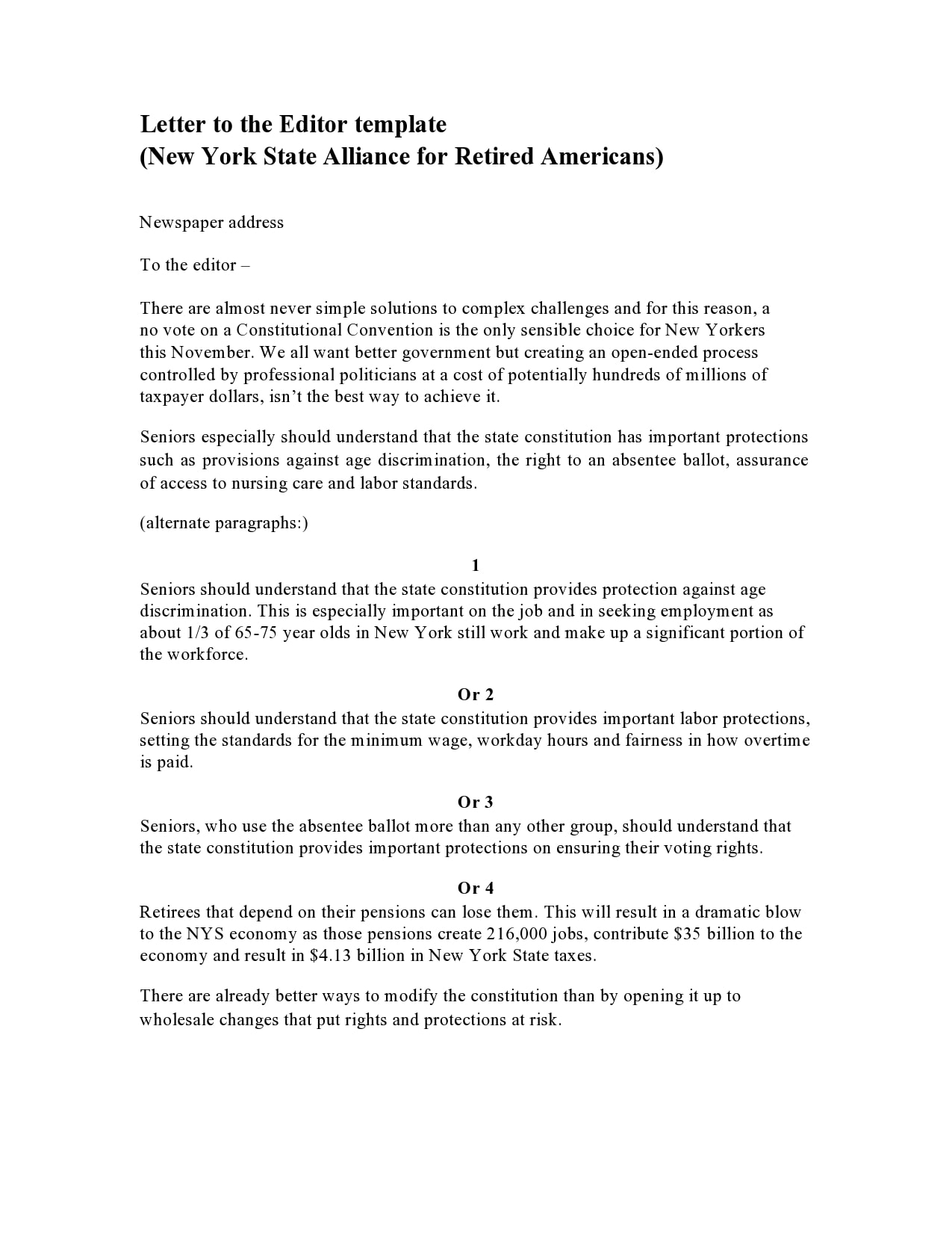 letter to the editor template 12