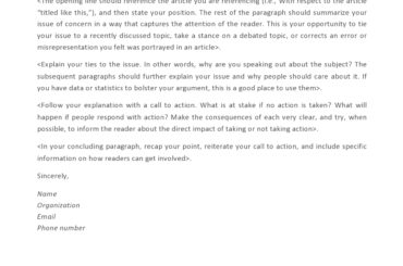 letter to the editor template 13
