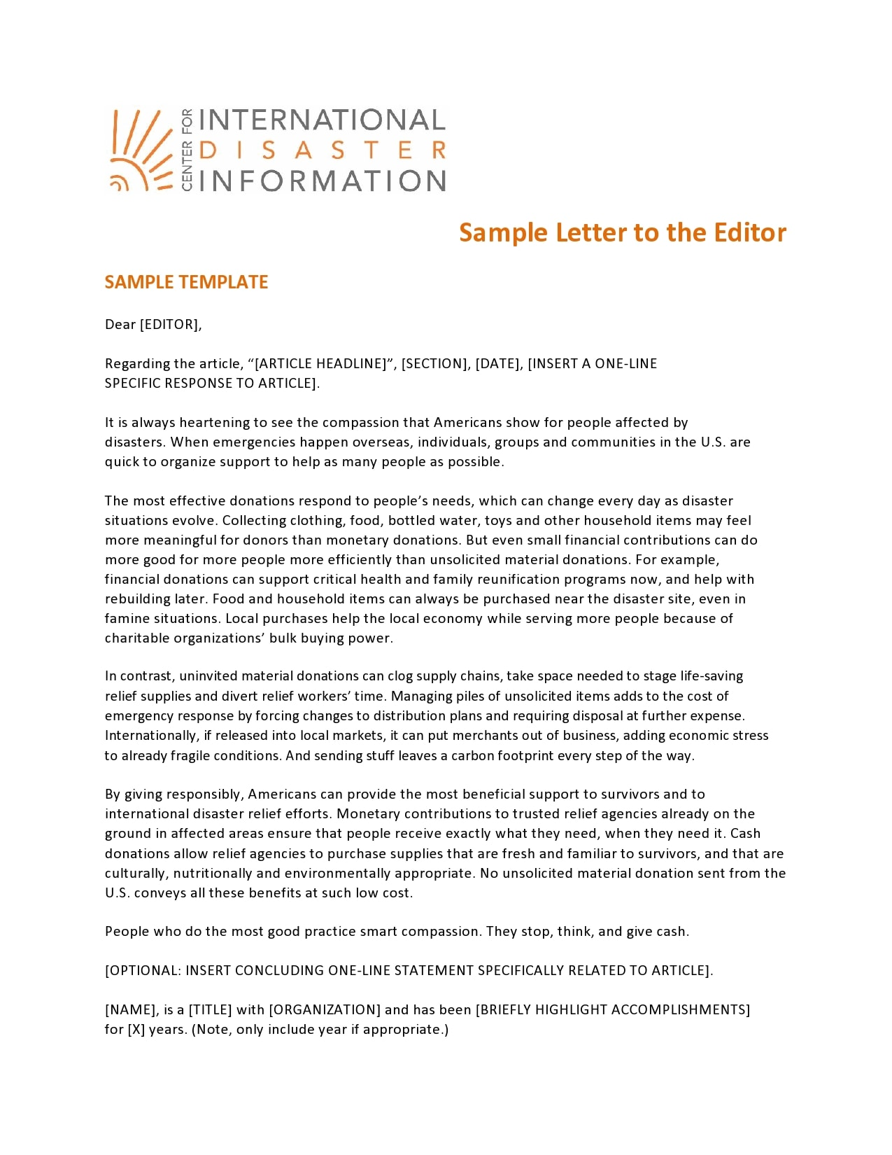 letter to the editor template 19