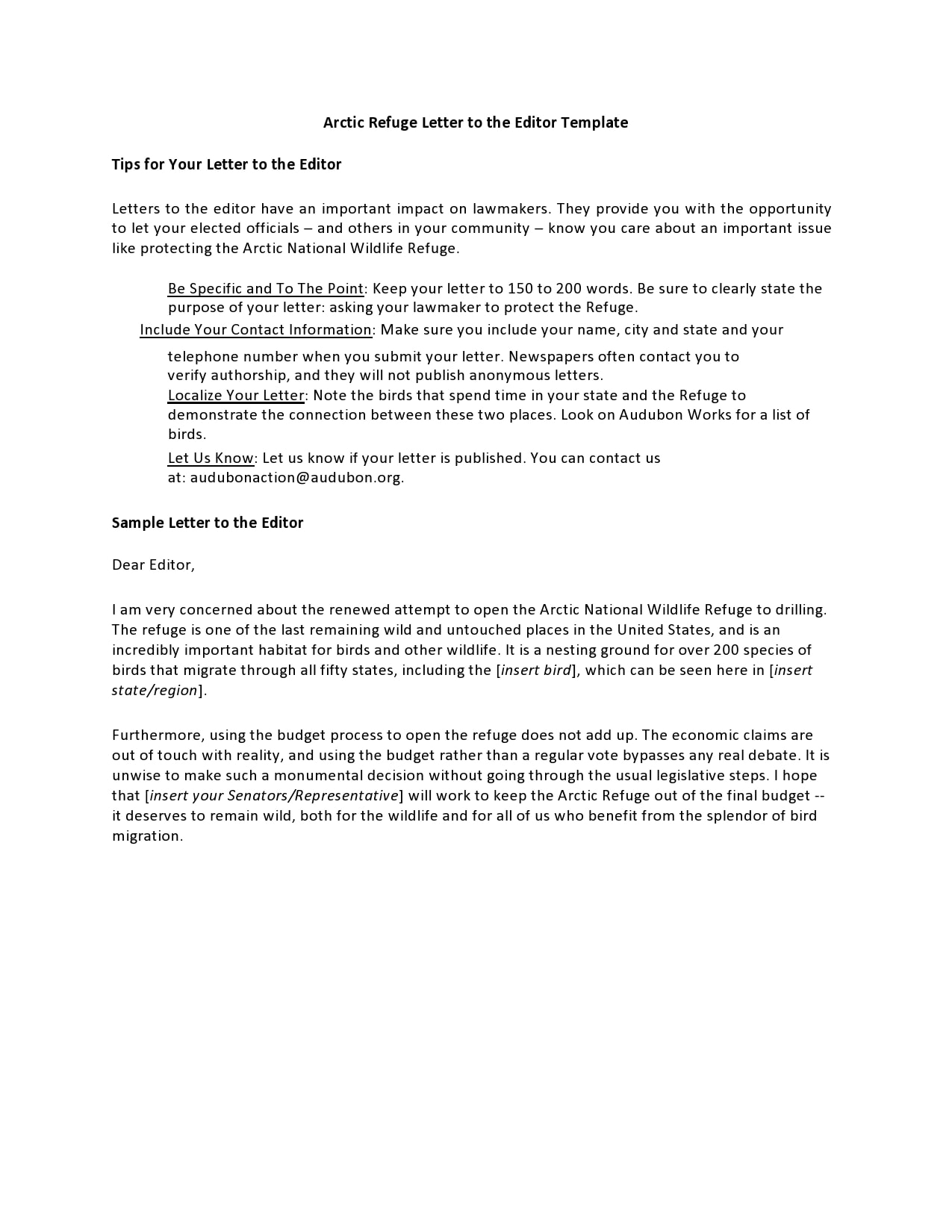 letter to the editor template 24