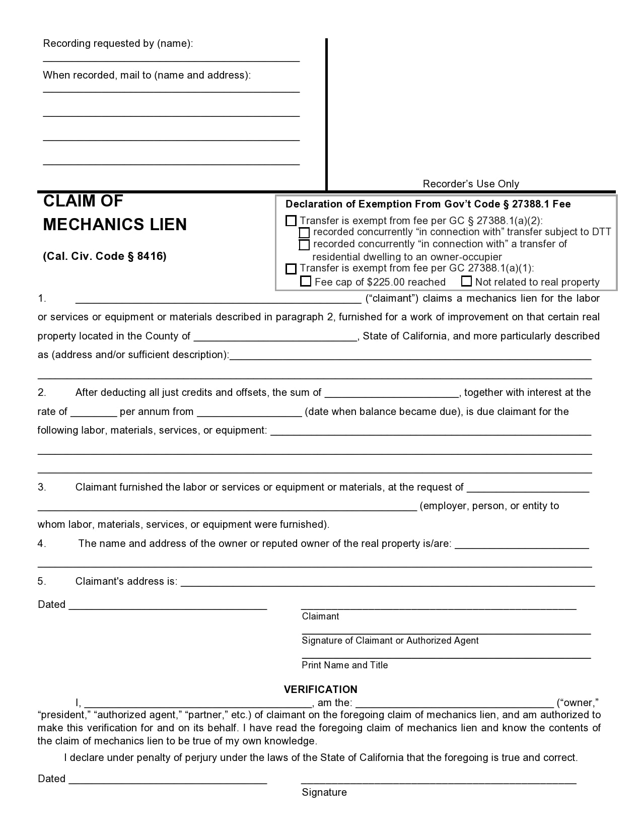mechanics lien form 02