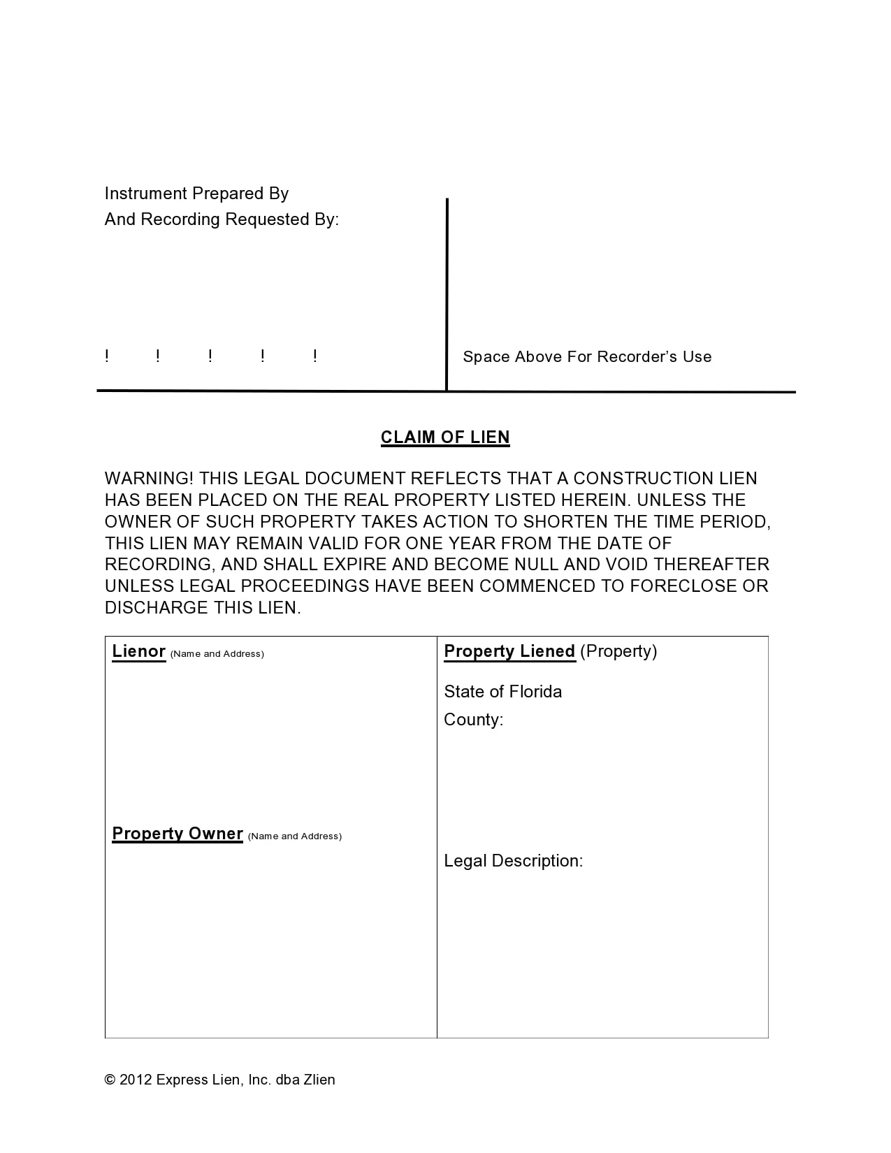 mechanics lien form 05