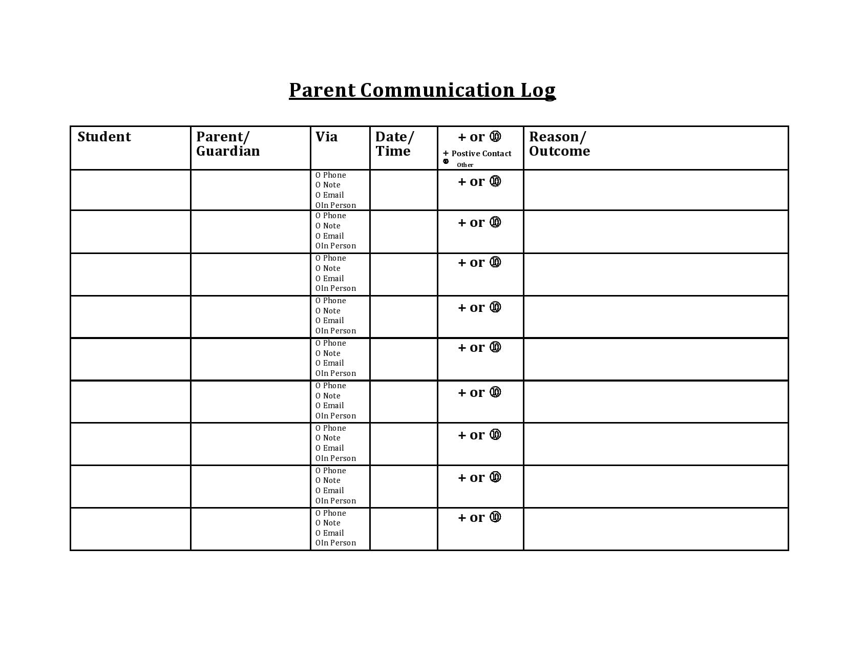 parent communication log 06