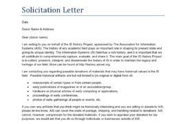 solicitation letter 01