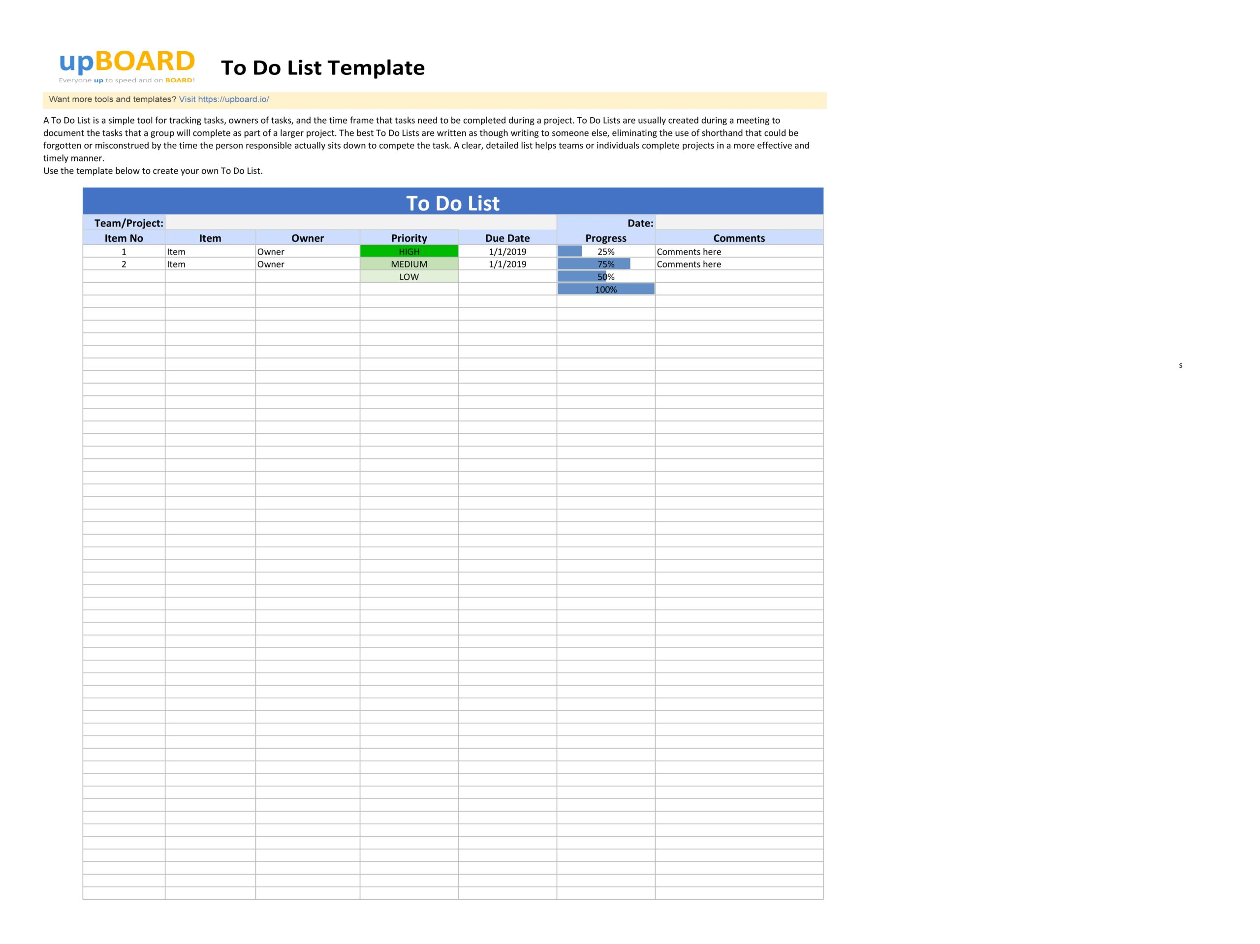 to do list template 04