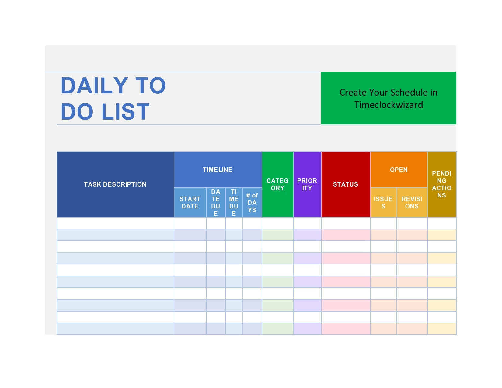 to do list template 29