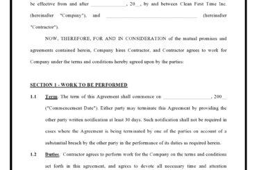 contractor agreement 04