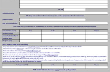 credit application template 12