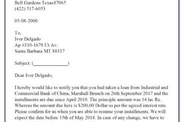 demand for payment letter 18