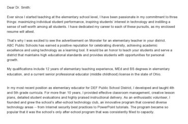 letter of introduction for teachers 21