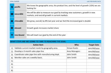 smart goals worksheet 05