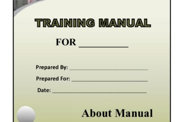 training manual template 08